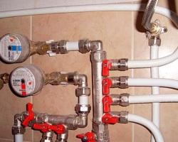 перекрытие воды в квартире